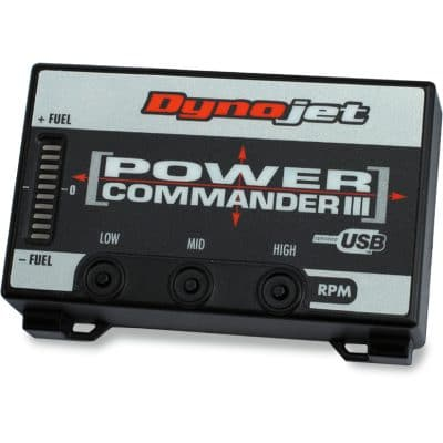 Powercommander III er det bedste værktøj til justering af brændstof blandingen