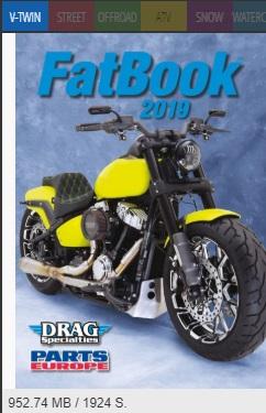 Tusindvis af fede dele til Harley Davidson.